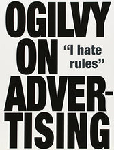 Load image into Gallery viewer, Ogilvy On Advertising