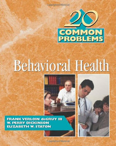 20 Common Problems In Behavioral Health