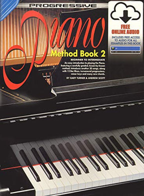 72627 - Progressive Piano Method Book 2 - Book/Online Audio