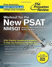 Load image into Gallery viewer, Workout For The New Psat/Nmsqt: 275+ Practice Questions & Answers To Help You Prepare For The New Test (College Test Preparation)