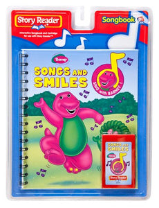 Story Reader Barney Book: Songs And Smiles