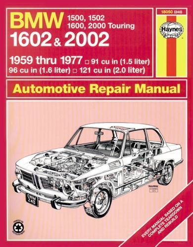 Bmw 1602 And 2002, 1959-77 (Haynes Manuals)