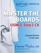 Load image into Gallery viewer, Kaplan Medical Usmle Master The Boards Step 2 Ck (Kaplan Medical Master The Boards)