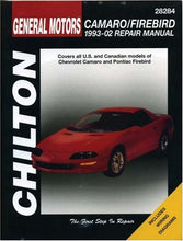 Load image into Gallery viewer, Gm Camaro And Firebird, 1993-2002 (Haynes Repair Manuals)