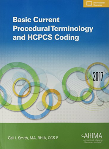 Basic Current Procedural Terminology And Hcpcs Coding, 2017