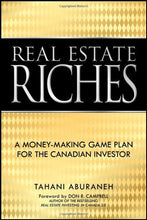 Load image into Gallery viewer, Real Estate Riches: A Money-Making Game Plan For The Canadian Investor
