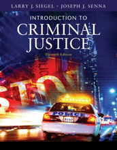Load image into Gallery viewer, Introduction To Criminal Justice (Available Titles Cengagenow)