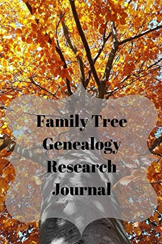 Family Tree Genealogy Research Journal: Use This 6X9 Inch Book To Record Your Researched Information On A Single Surname, A Single Family Or An Individual Person.