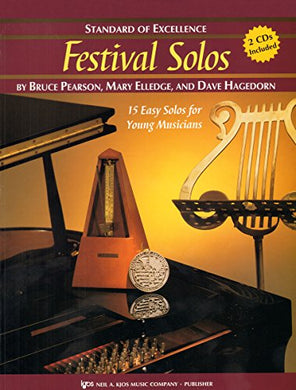 W28Hf - Standard Of Excellence - Festival Solos Book/Cd - French Horn