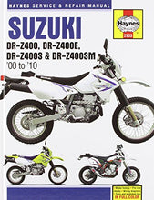Load image into Gallery viewer, Suzuki Dr-Z400/Dr-Z400E/Dr-Z400S & Dr-Z400Sm, '00-'10 (Haynes Powersport)