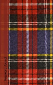 Password Journal: Password Keeper / Scottish Gifts / Tartan ( Internet Address Notebook )