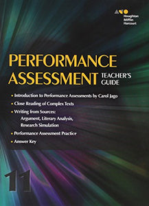 Collections: Performance Assessment Teacher'S Guide Grade 11