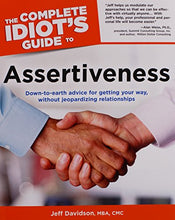 Load image into Gallery viewer, The Complete Idiot'S Guide To Assertiveness