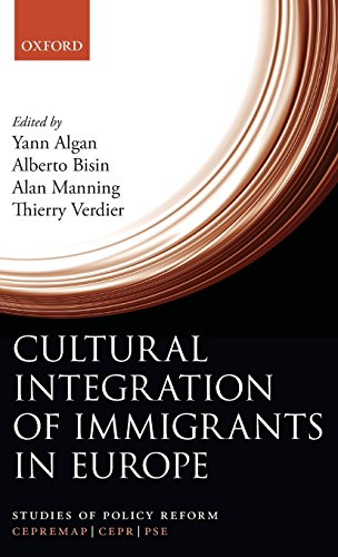 Cultural Integration Of Immigrants In Europe (Studies Of Policy Reform)