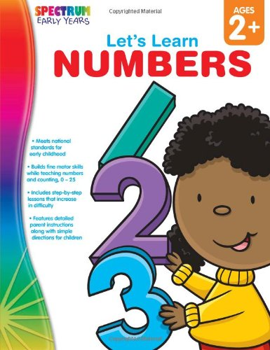 Lets Learn Numbers, Ages 2 - 5