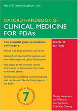 Load image into Gallery viewer, Oxford Handbook Of Clinical Medicine For Pda (Oxford Medical Handbooks)