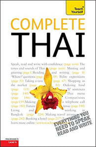 Complete Thai Beginner To Intermediate Course: Learn To Read, Write, Speak And Understand A New Language With Teach Yourself [Paperback]