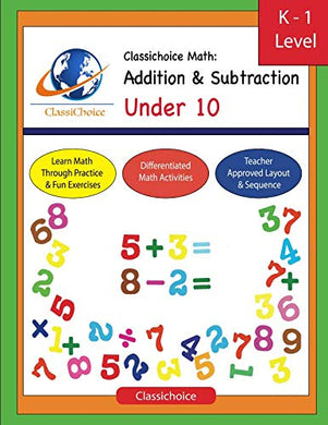 Classichoice Math: Addition & Subtraction Under 10