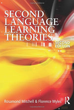 Load image into Gallery viewer, Second Language Learning Theories (Arnold Publication) Second Edition