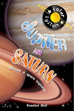 Up In Space: Jupiter And Saturn (Qed Reader)