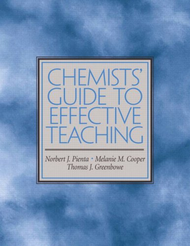 Chemists' Guide To Effective Teaching