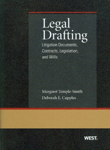 Legal Drafting: Litigation Documents (Coursebook)