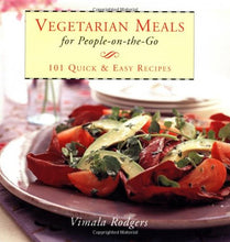 Load image into Gallery viewer, Vegetarian Meals On The Go (Gift Books)