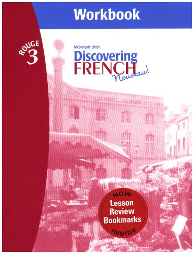 Discovering French: Nouveau Rouge 3 Workbook