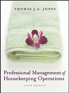 Professional Management Of Housekeeping Operations