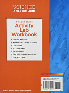 Science, A Closer Look, Grade 3, Activity Lab Book (Elementary Science Closer Look)