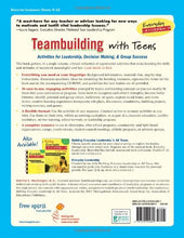 Load image into Gallery viewer, Teambuilding With Teens: Activities For Leadership, Decision Making, And Group Success