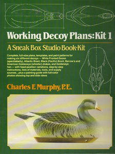 Working Decoy Plans: Kit 1