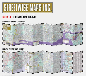 Streetwise Lisbon Map - Laminated City Center Street Map Of Lisbon, Portugal (Streetwise (Streetwise Maps))