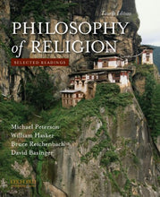 Load image into Gallery viewer, Philosophy Of Religion: Selected Readings