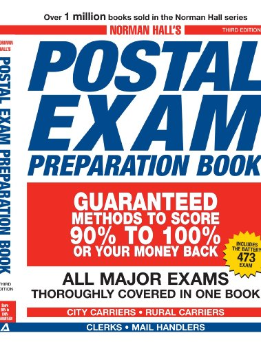 Norman Hall'S Postal Exam Preparation Book: Everything You Need To Know. All Major Exams Thoroughly Covered In One Book