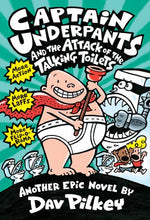Load image into Gallery viewer, Captain Underpants And The Attack Of The Talking Toilets