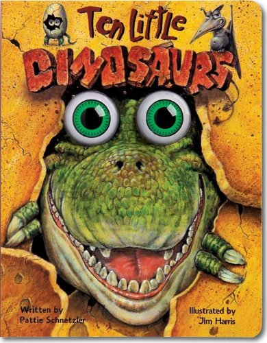Ten Little Dinosaurs (Eyeball Animation): Board Book Edition