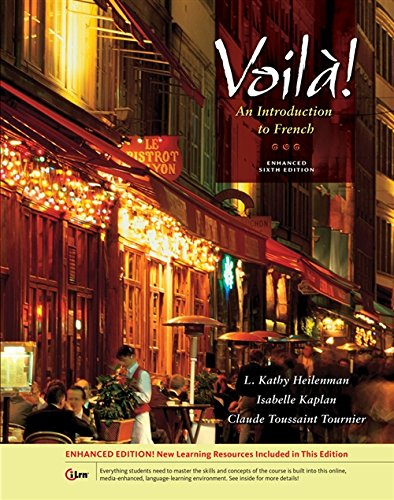 Voila! An Introduction To French, Enhanced (With Audio Cd) (World Languages)
