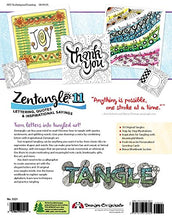 Load image into Gallery viewer, Zentangle 11, Workbook Edition: Lettering, Quotes & Inspirational Sayings