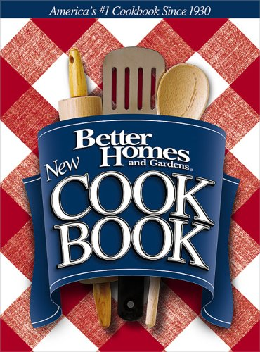 New Cook Book (Better Homes & Gardens New Cookbooks)