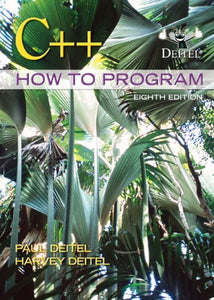 C++ How To Program (8Th Edition)