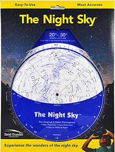 The Night Sky 20-30N (Large) Star Finder