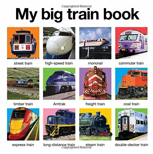 My Big Train Book (My Big Board Books)
