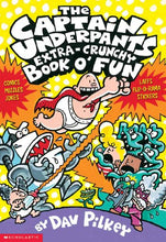 Load image into Gallery viewer, The Captain Underpants Extra-Crunchy Book O' Fun (Turtleback School & Library Binding Edition)