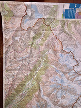 Load image into Gallery viewer, Mont Blanc 1:25,000 Hiking Map (Chamonix - Massif Du Mont Blanc, France), 2012 Edition