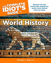 Load image into Gallery viewer, The Complete Idiot'S Guide To World History, 2Nd Edition