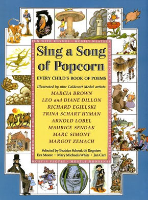 Sing A Song Of Popcorn: Every Child 'S Book Of Poems (Hc): Every Child'S Book Of Poems