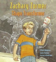 Load image into Gallery viewer, Zachary Zormer: Shape Transformer (Charlesbridge Math Adventures)
