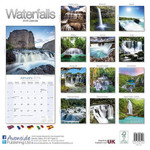 Load image into Gallery viewer, Waterfalls Calendar - 2016 Wall Calendars - Photo Calendar - Monthly Wall Calendar By Avonside