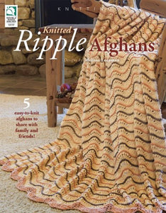 Knitted Ripple Afghans